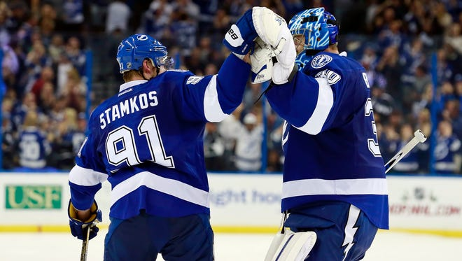 The Tampa Bay Lightning are not in a playoff spot now, but don't count them out.