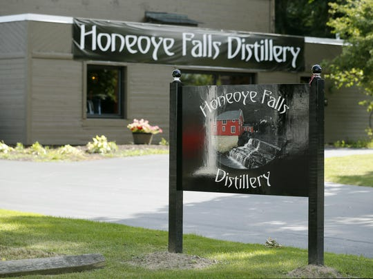 The Honeoye Falls Distillery is located at 168 W. Main