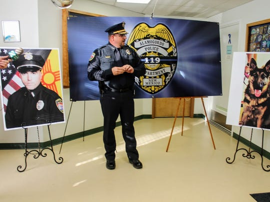 Alamogordo Chief of Police Daron Syling announced that
