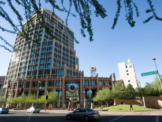 Phoenix city council chambers.