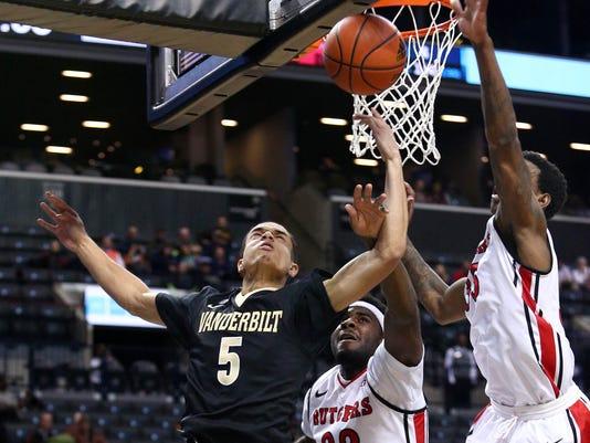 NCAA Basketball: Barclay's Center Classic-Rutgers vs Vanderbilt
