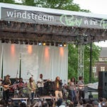 The Wailers perform at the Windstream Party in the Park in 2014, after it had returned to Martin Luther King, Jr., Park.