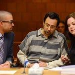 Nassar judge removes herself after Facebook 'like'