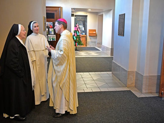 The new bishop-elect, the Very Rev. J. Mark Spalding,
