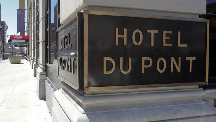 The Hotel DuPont, seen Saturday, April 11, 2015.