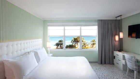 A room with an ocean view at the new Metropolitan COMO