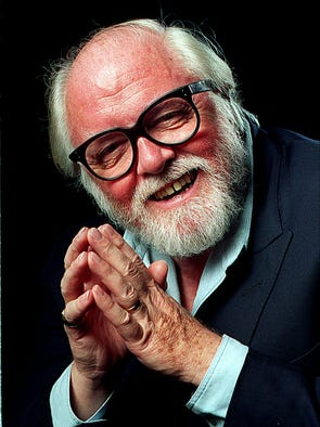 British actor and director Richard Attenborough has died at 90, his son tells the BBC. Here he poses for USA TODAY in November 1994.