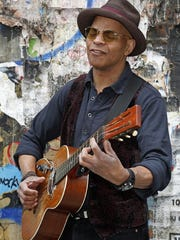 Bluesman Guy Davis will play 7 p.m. Thursday, Sept.
