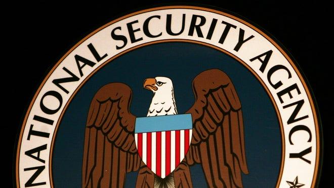 NSA seal.