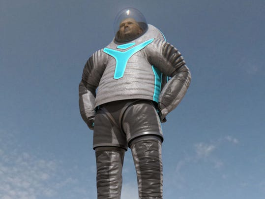 "NASA's ""Technology"" space suit"