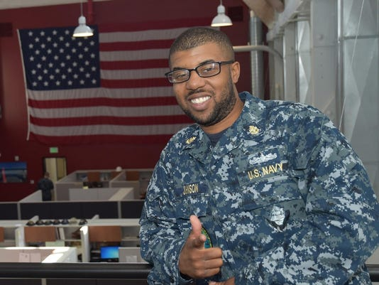 s l grad serves as navy quartermaster out of san diego