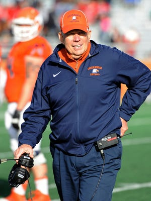 """Carson-Newman coach Ken Sparks is one win from tying Paul """"Bear"""" Bryant for sixth place on the NCAA all-time wins list."""