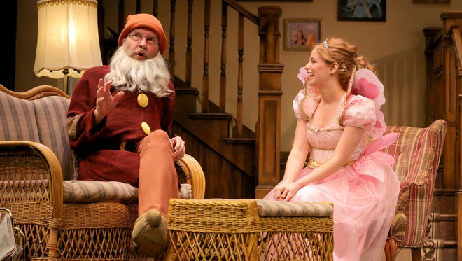 """Charles Janasz and Ali Rose Dachis appear in the Arizona Theatre Company production """"Vanya and Sonia and Masha and Spike."""""""