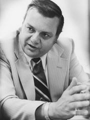 Arpaio in his last job with the DEA, as special agent in charge of Arizona, pictured on Aug. 16, 1978.