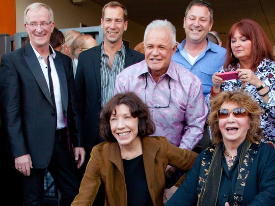 Lily Tomlin gets a star on the Palm Springs Walk of