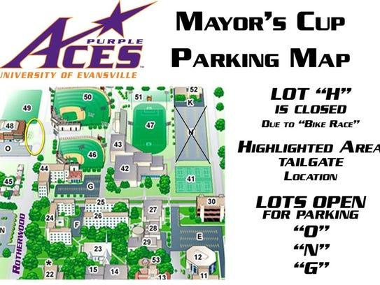 Mayor's Cup parking