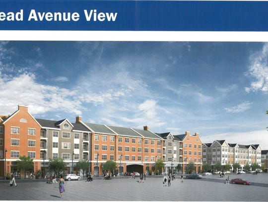 The proposal includes 143 apartment homes in 3 residential