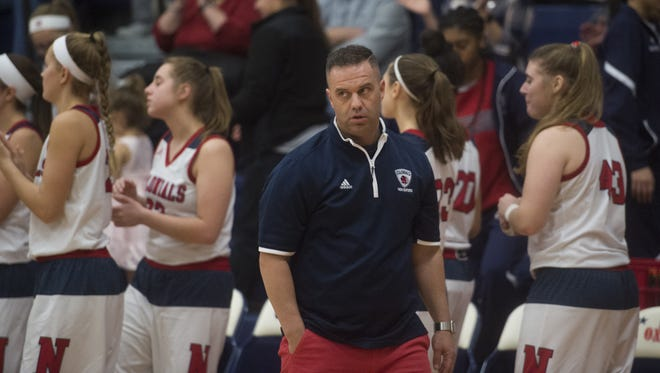 James Kunkle spent two seasons as the New Oxford girls' basketball coach before recently stepping down.