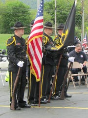The third annual Law Enforcement Memorial Service was held Saturday at the Steuben County Public Safety Building.