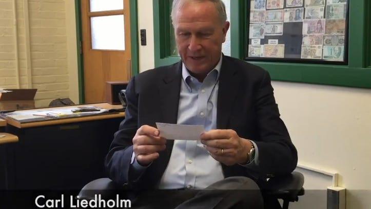 Michigan State professors read mean reviews