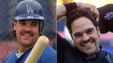 Mike Piazza's statistics show his best seasons came with the Dodgers – but his total stat line was stronger than with the Mets: