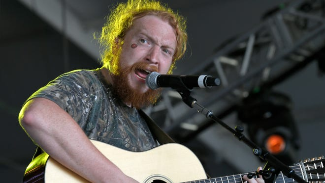 Tyler Childers performs at the Bonnaroo Music and Arts Festival in Manchester, Tenn., on Friday, June 8, 2018.