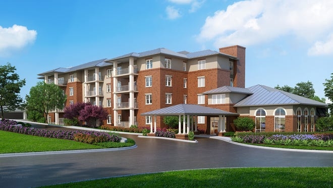 Canopy Oaks will be a new four-story apartment at Westminster Oaks.