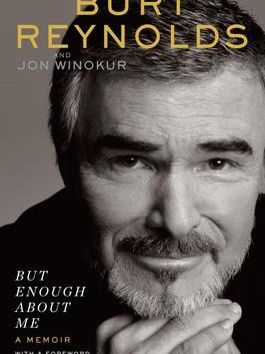 Burt Reynolds book jacket