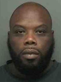 Michael Monroe, 38, is charged with grand larceny.