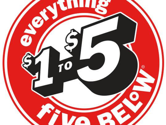 Five below logo photo courtesy fivebelow com