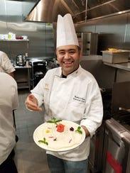 Chef Rachid Eido launched Kareem's Lebanese Kitchen