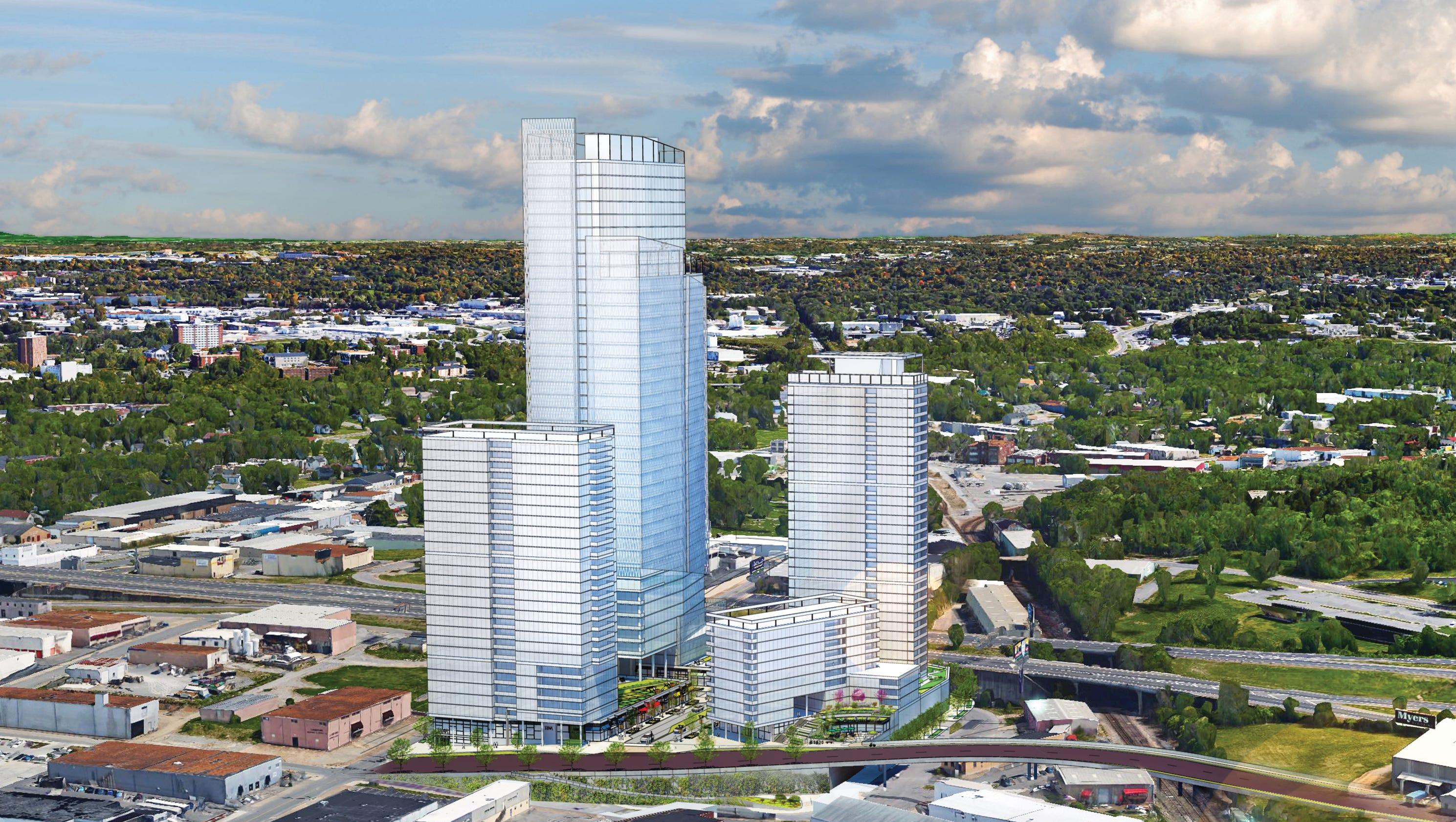 Real Life Home Design Games Planned Towers Have Nashville S Skyline Looking Up