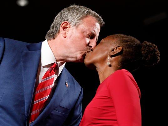 EPA USA NEW YORK MAYOR ELECTION POL ELECTIONS USA NY