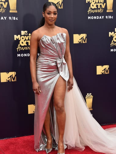Stars flocked to the red carpet of the MTV Movie &