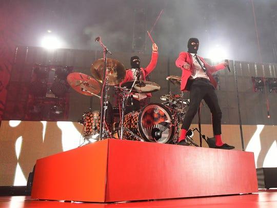 Twenty One Pilots perform at Pittsburgh, Pennsylvania's