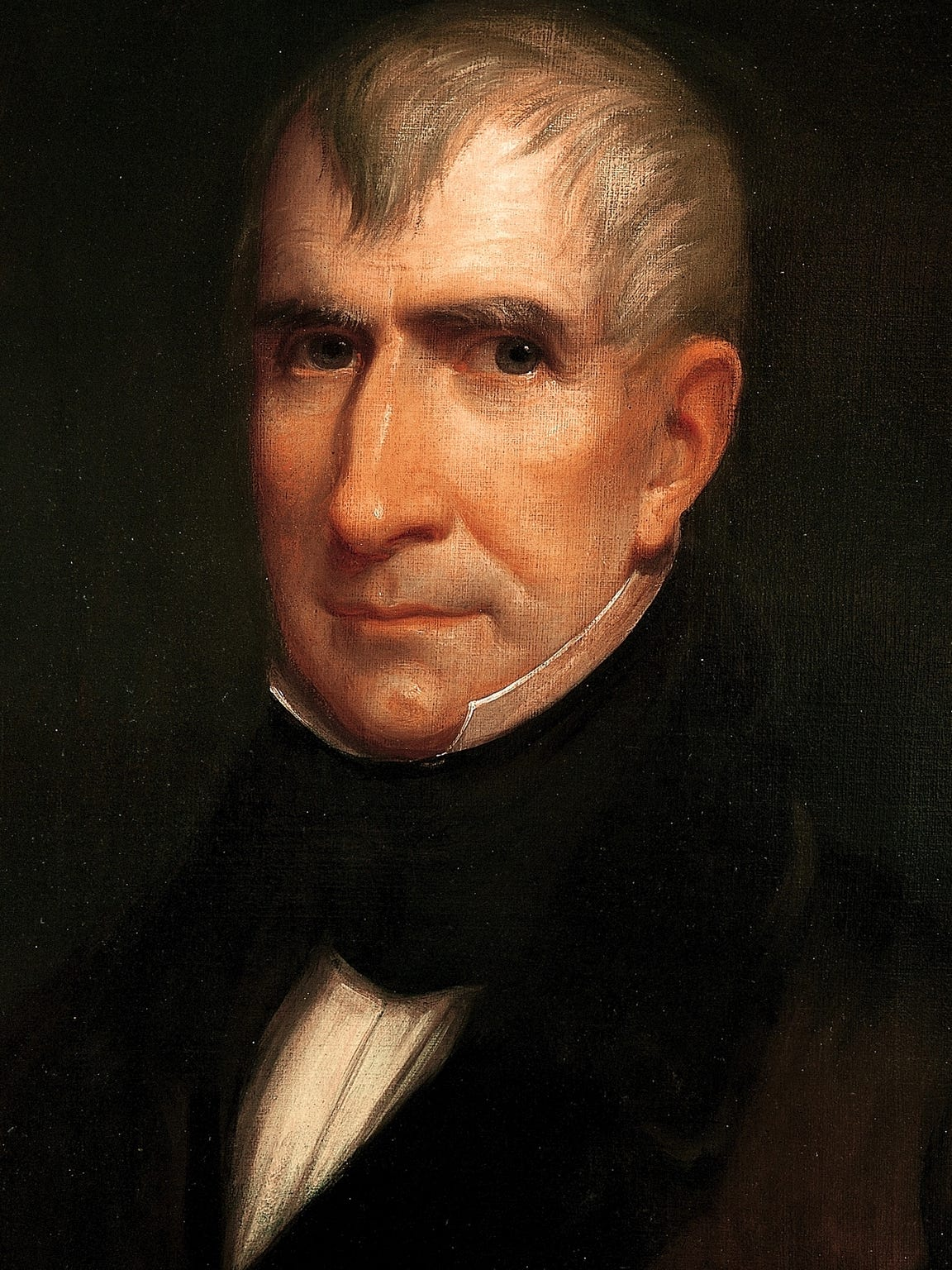 Portrait of William Henry Harrison by James Reid Lambdin,