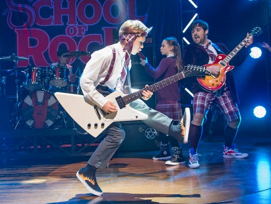 """School of Rock,"" the movie, really revolved around"