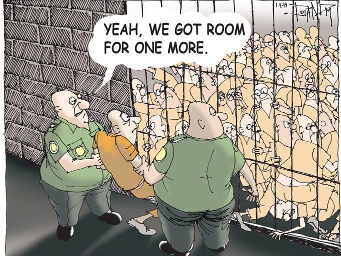 DOC crowding.