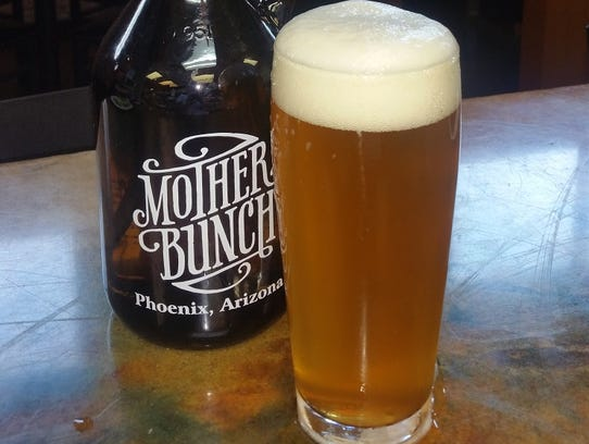 Mother Bunch's seasonal ale is brewed with hand-picked