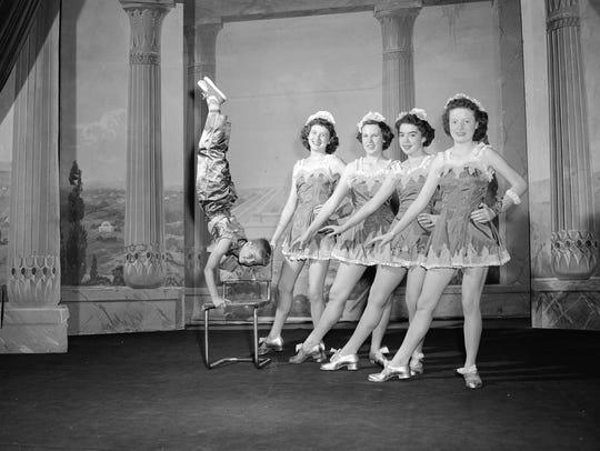 Members of the Barbara Fischer School of the Dance