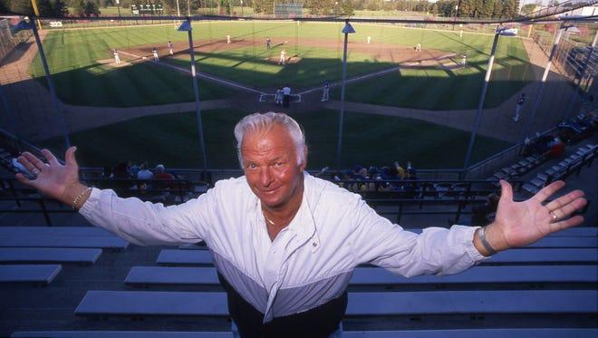 St. Cloud's baseball field was renamed Dick Putz Field in 1988.