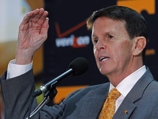Tennessee athletics director dave hart photo wade payne file ap