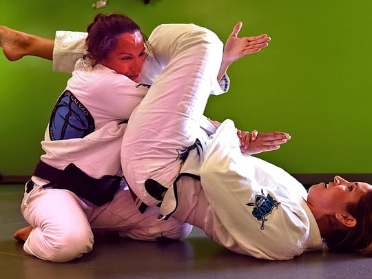 TV anchor Kristen Remington grapples with her martial