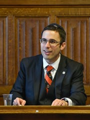 Dr Daniel Mark, chair of the U.S. Commission on International Religious Freedom addresses the All-Party Parliamentary Group meeting held at the United Kingdom Parliament on May 1.