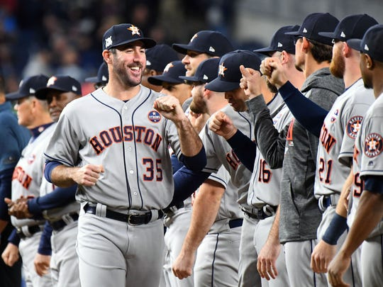 Justin Verlander fronts a rotation with six solid options,