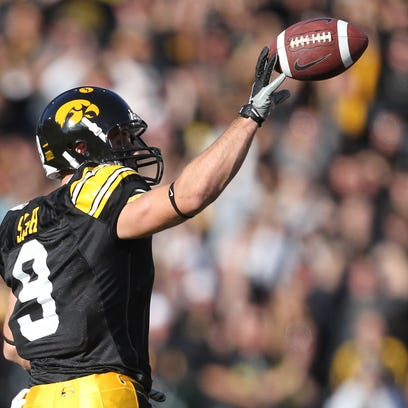 Iowa's Tyler Sash died last September, and a New York