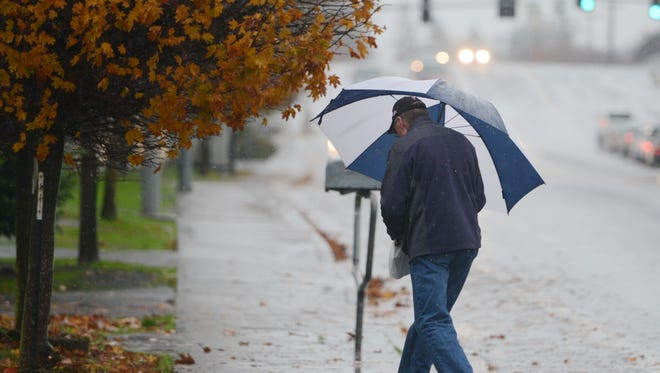 A hard rain is expected to fall in the Willamette Valley starting Wednesday night. File photo.