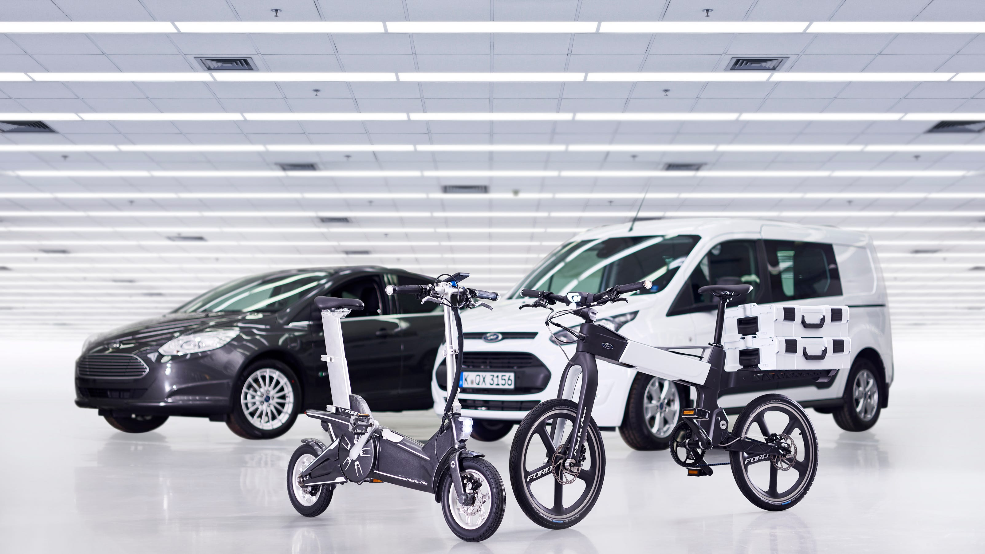 Ford unveils electric bike prototypes