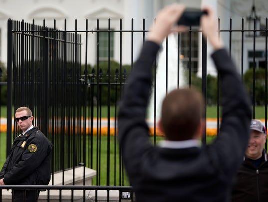 Fence Gate No More Whitewashing White House Security