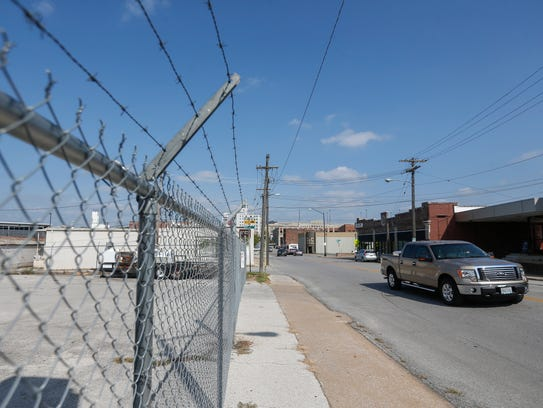 City Council approved a bid to make roadway and sidewalk